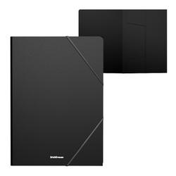 Папка на резинках пластиковая  ErichKrause® Matt Classic, A4, черный 47189
