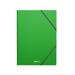 Папка на резинках пластиковая  ErichKrause® Matt Classic, A4, зеленый 47191