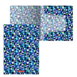 Папка на резинках пластиковая  ErichKrause® Cubes, A4 47211
