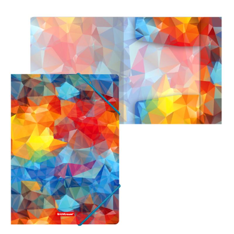 Папка на резинках пластиковая  ErichKrause® Dynamique, A4 47215