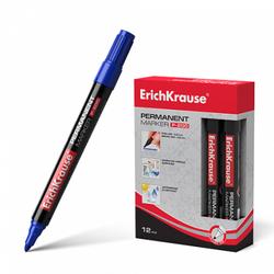 Перманентный маркер ErichKrause® P-200, цвет чернил синий 4778