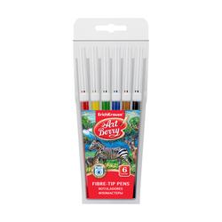 Фломастеры ArtBerry® Easy Washable 6 цветов 47879