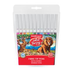 Фломастеры ArtBerry® Easy Washable 12 цветов 47880