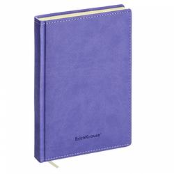 Ежедневник А5 недатированный ErichKrause® Silhouette, цвет: индиго, на магните, 336 стр, тонированная бумага 47910