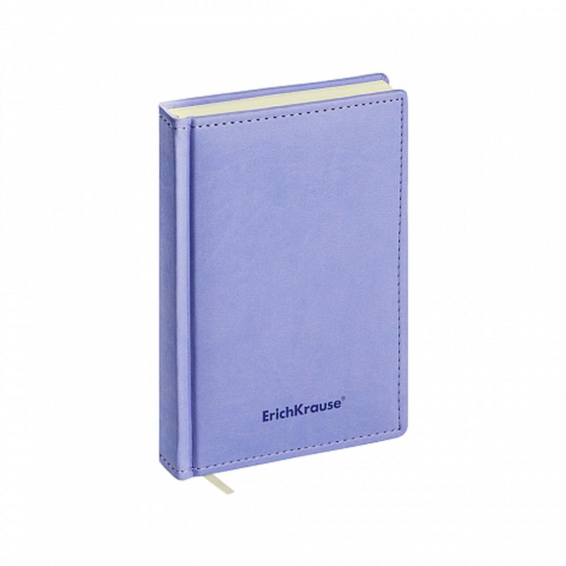 Ежедневник А6+ недатированный ErichKrause® Vivella, цвет: фиолетовый, тонированная бумага 47931