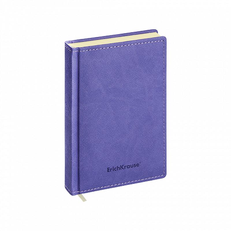 Ежедневник А6+ недатированный ErichKrause® Silhouette, цвет: индиго, тонированная бумага 47934