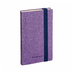 Ежедневник А5- недатированный ErichKrause® Ruggine, цвет: фиолетовый, на резинке, тонированная бумага 47951