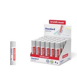 Клей-карандаш ErichKrause® Standard, 6г. 48029