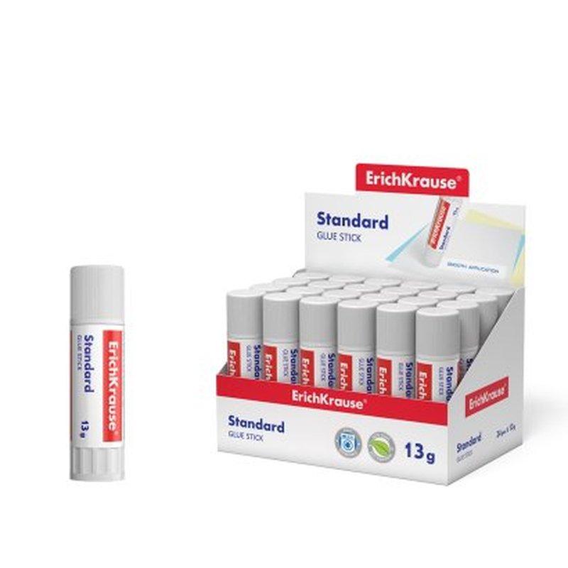 Клей-карандаш ErichKrause® Standard, 13г 48030