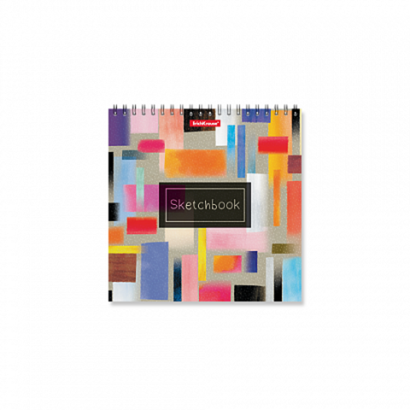 Альбом для эскизов на спирали ErichKrause® Абстракция, 170х170 мм, 40 листов 48044