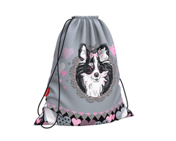 Мешок для обуви ErichKrause® 365x440мм Mimi Dog 48247