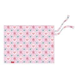Подкладка настольная текстильная ErichKrause® Pink Flowers, А3+ 48305