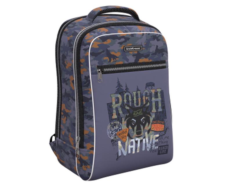 Ученический рюкзак ErichKrause® ErgoLine® Urban 18L Rough Native 48349