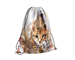 Мешок для обуви ErichKrause® 365x440мм Wild Cat 48440