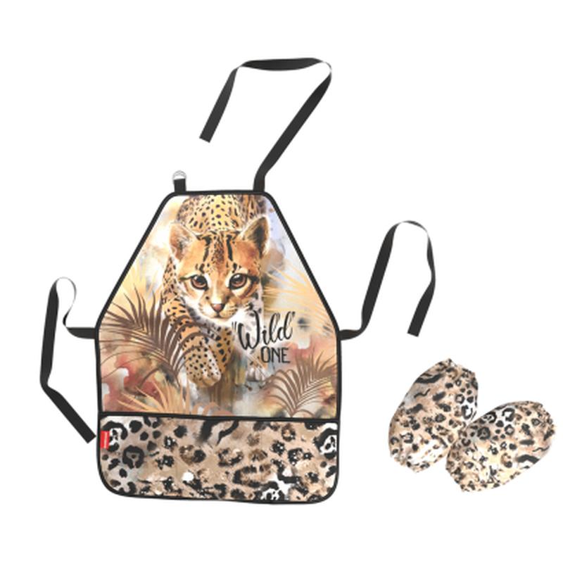 Фартук с нарукавниками ErichKrause® Wild Cat 48448