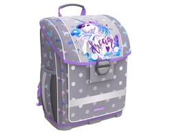 Ученический ранец с пластиковым дном ErichKrause® ErgoLine® 16L Dream Unicorn 48457