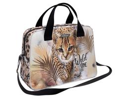Сумка для спорта и путешествий ErichKrause® 21L Wild Cat 48479