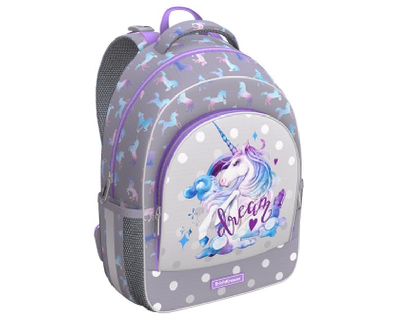 Ученический рюкзак ErichKrause® ErgoLine® 15L Dream Unicorn 48501