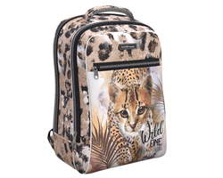 Ученический рюкзак ErichKrause® ErgoLine® Urban 18L Wild Cat 48504