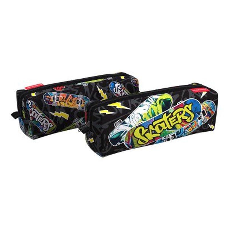 Пенал квадро ErichKrause® 210x70x70мм Neon Skate 48516