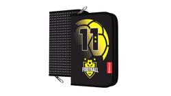Пенал-книжка без наполнения ErichKrause® 135x205x30мм Football Time 48526