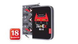 Пенал-книжка с наполнением ErichKrause® 135x205x30мм Super Hero 48544