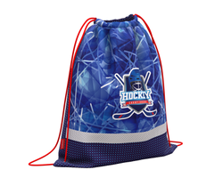 Мешок для обуви ErichKrause® с вентиляцией 500х410мм Hockey 48577
