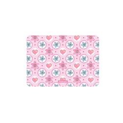 Подкладка настольная пластиковая ErichKrause® Pink Flowers, А4 48599