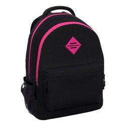 Ученический рюкзак ErichKrause® EasyLine® с двумя отделениями 20L Black&Pink 48611