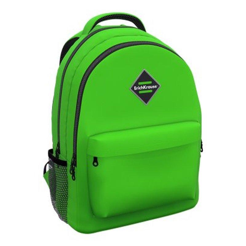 Ученический рюкзак ErichKrause® EasyLine® с двумя отделениями 20L Neon® Green 48615