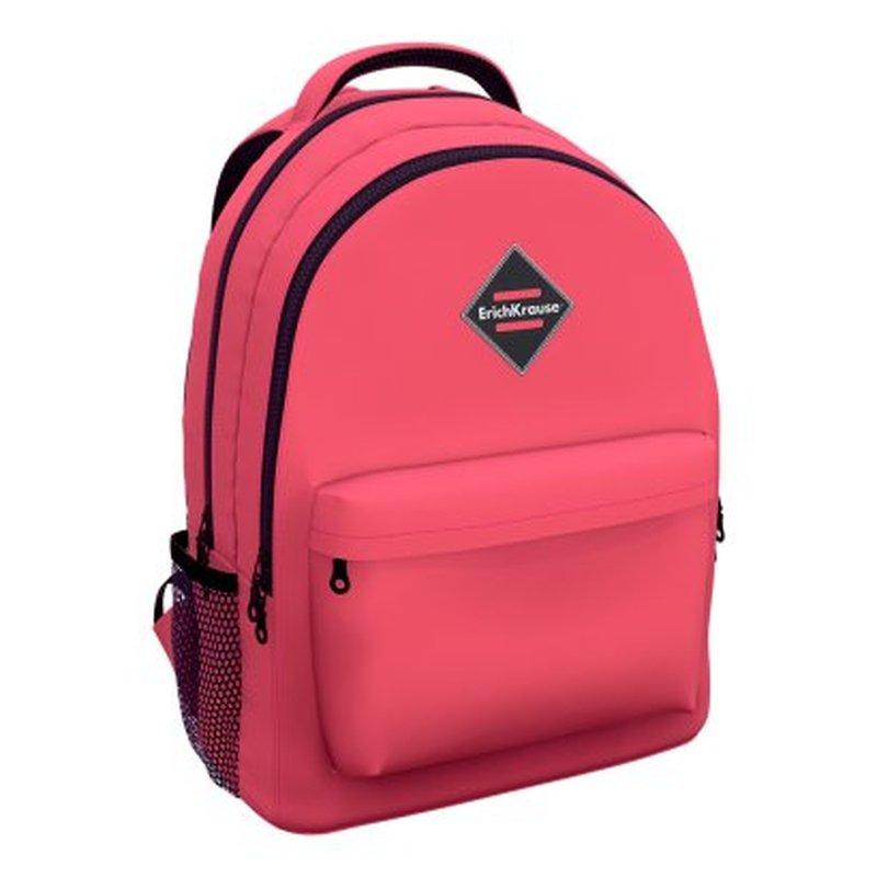 Ученический рюкзак ErichKrause® EasyLine® с двумя отделениями 20L Neon® Coral 48617