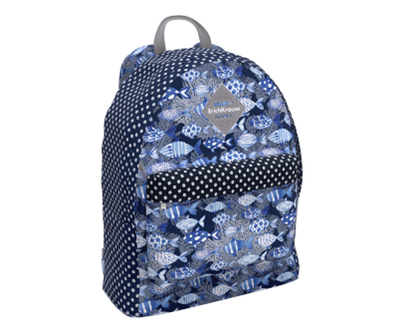 Рюкзак ErichKrause® EasyLine® 17L Fish and Dots 48619