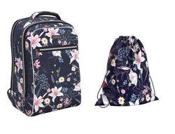 Ученический рюкзак ErichKrause® ErgoLine® Urban 18L Lily  с наполнением 48667/1