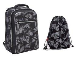 Ученический рюкзак ErichKrause® ErgoLine® Urban 18L Thistle  с наполнением 48674/1