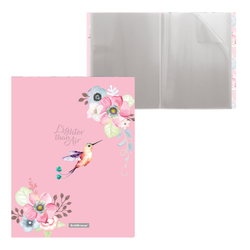 Папка файловая пластиковая ErichKrause® Colibri, c 20 карманами, A4 48687