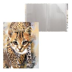 Папка файловая пластиковая ErichKrause® Wild Cat, c 20 карманами, A4 48688