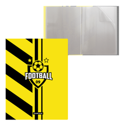 Папка файловая пластиковая ErichKrause® Football time, c 20 карманами, A4 48689