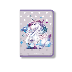 Папка для тетрадей на молнии пластиковая ErichKrause® Dream Unicorn, A4 48693