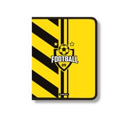 Папка для тетрадей на молнии пластиковая  ErichKrause® Football Time, A4+ (в пакете по 4 шт.) 48695