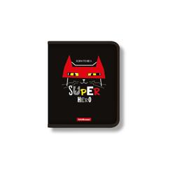 Папка для тетрадей на молнии пластиковая ErichKrause® Super Hero, A5+ 48698