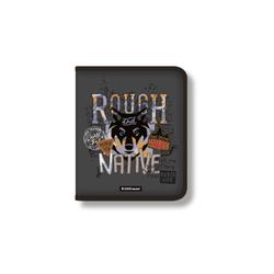 Папка для тетрадей на молнии пластиковая  ErichKrause® Rough Native, A5+ 48700