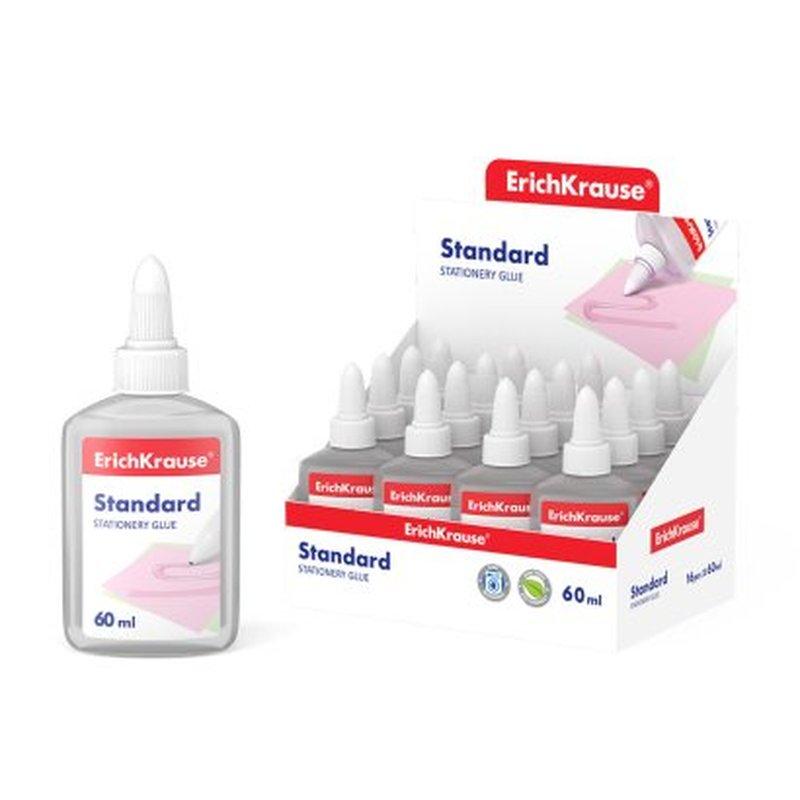Клей канцелярский ErichKrause® Standard, 60мл 48708