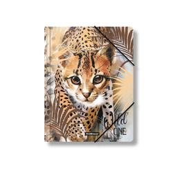 Папка на резинках пластиковая  ErichKrause® Wild Cat, A4 48719