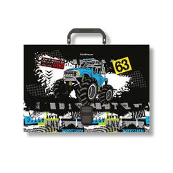 Портфель пластиковый ErichKrause® Track Car, A4 48736