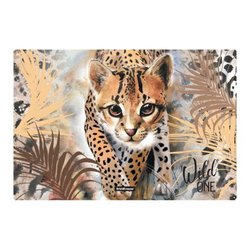 Подкладка настольная пластиковая ErichKrause® Wild Cat, А3 48740