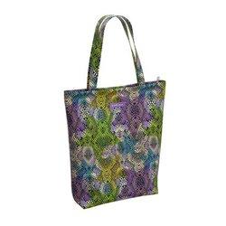 Сумка-шоппер на молнии ErichKrause® 14L Purple Python 48888