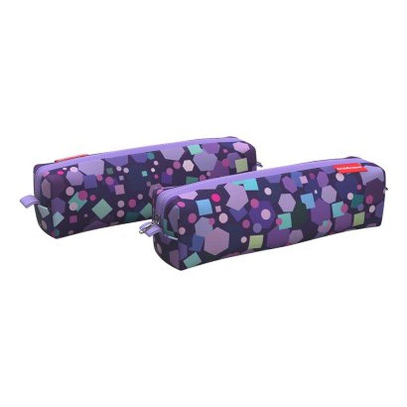 Пенал квадро mini ErichKrause® 210x50x50мм Candy 48948