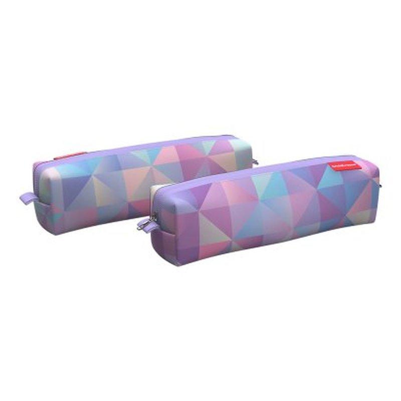 Пенал квадро mini ErichKrause® 210x50x50мм Magic Rhombs 48962