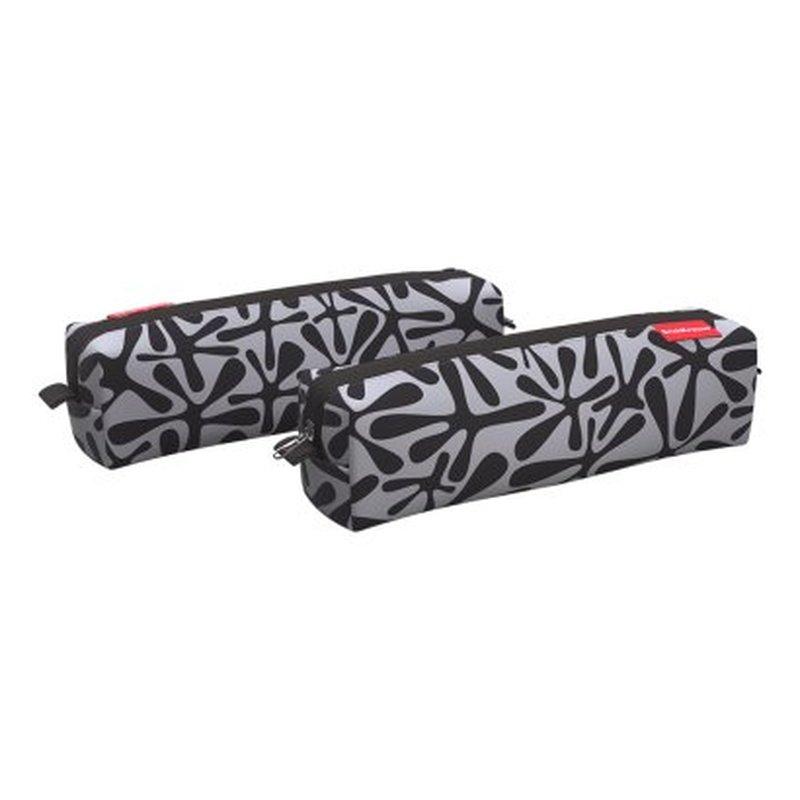 Пенал квадро mini ErichKrause® 210x50x50мм Black Dill 48970