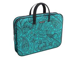 Папка текстильная на молнии ErichKrause® с ручками Paisley Style, A4+ 49095